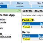 Setup search extension
