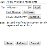 E-Mail Notification Extensions