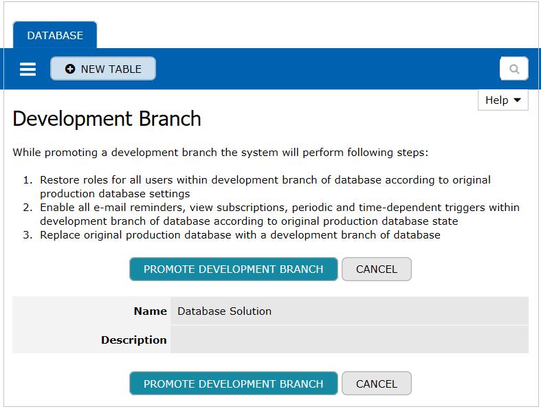 Promote Development Branch