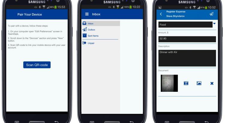 TeamDesk Mobile Client Application