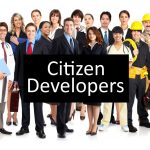 Database creation steps that Citizen Developers can do
