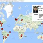 Location column, formulas and map views