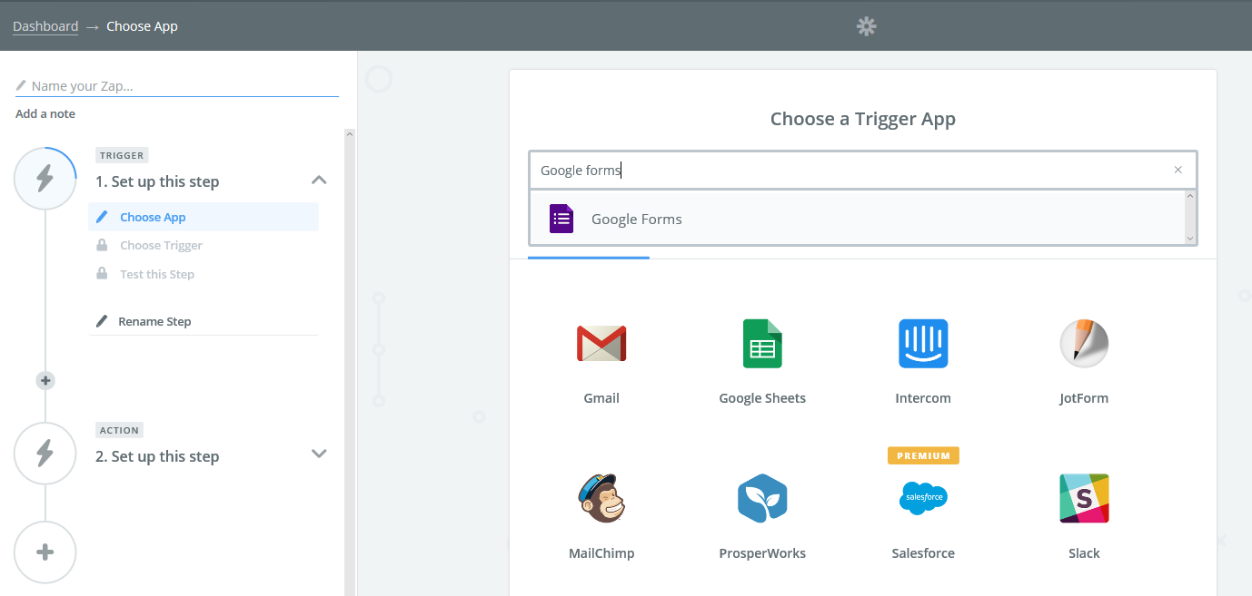 Integrate your Apps with TeamDesk via Zapier