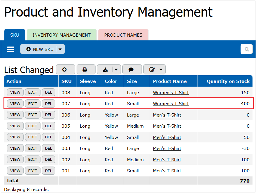 Online Database For Inventory Management Teamdesk Blog