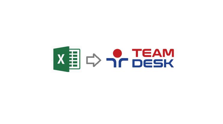 Excel to TeamDesk