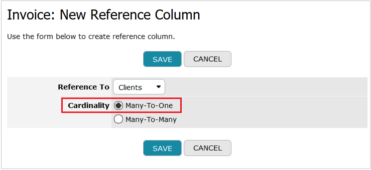 Reference Column