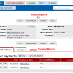 Deletion of Master and Details records in your Online Database