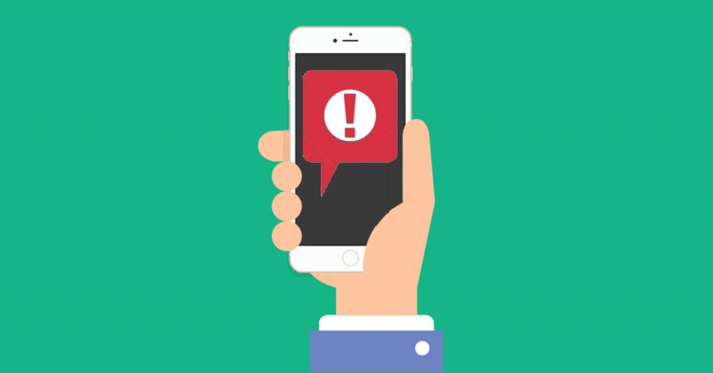 Mobile Device Record Alerts