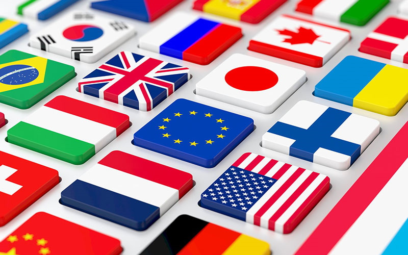Translating database UI