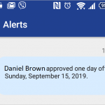 Exploring a Mobile Device Alert functionality