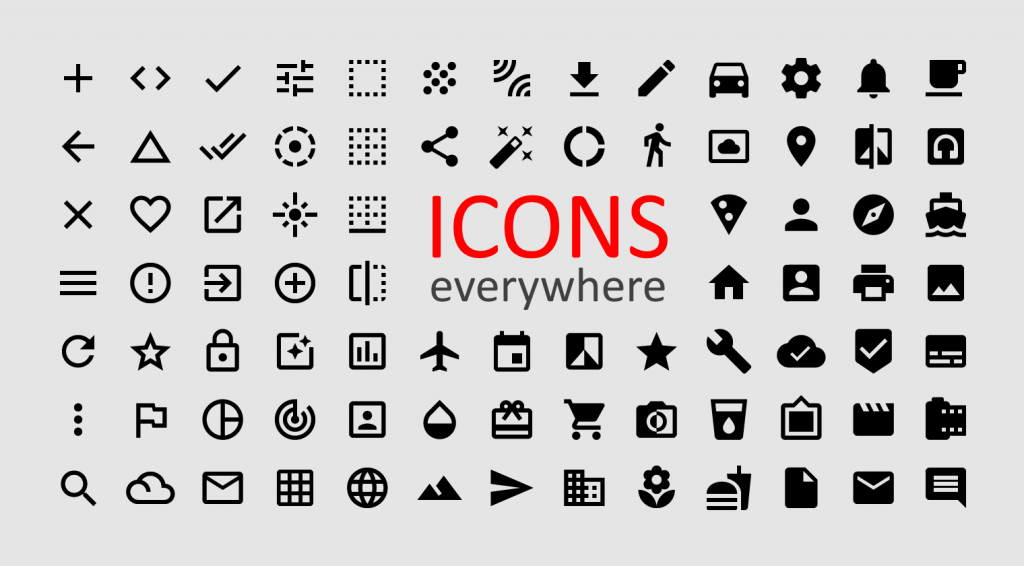 Icons Everywhere