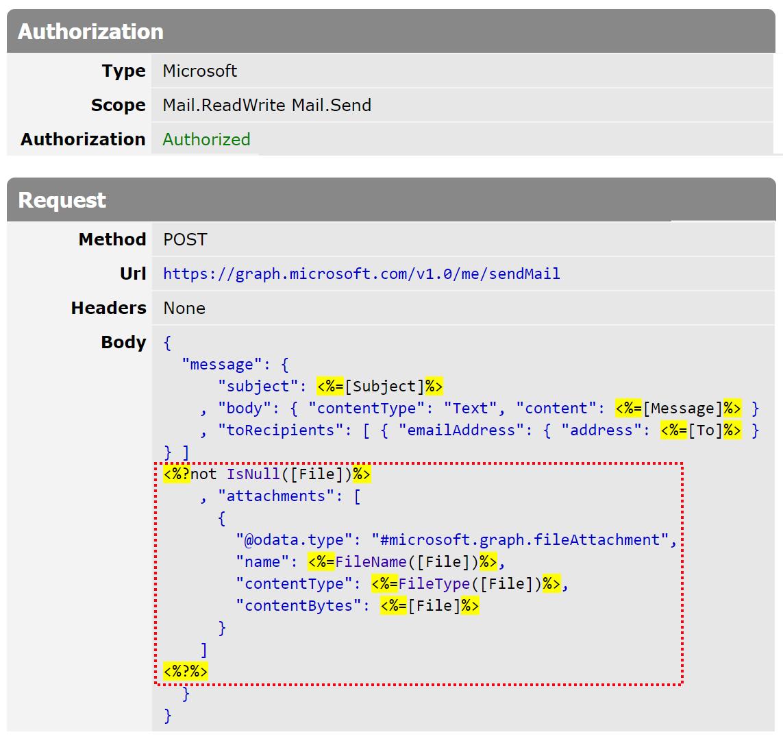 File upload in JSON body