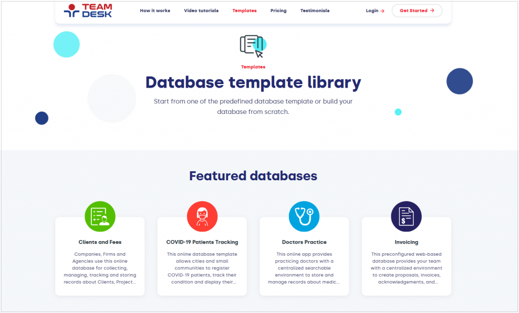 Library Page Design
