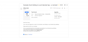 Event to Calendar App