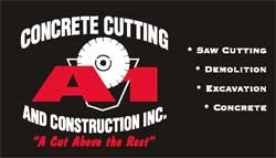 A1 Concrete Cutting and Constructon Inc. Logo